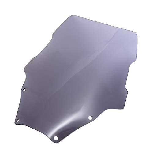 GUOQING Deflector de Parabrisas de Motocicleta Motorcycle Windshield Motorcycle Accessories Deflector Visor Visor Fit For Forza 300 2018 Forza 300 2018-2019 FORZA-300 (Color : Gray)