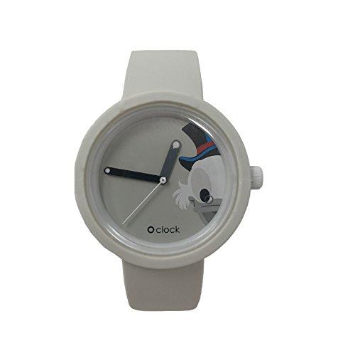 O Clock - Correa blanca + mecanismo Disney Paperone L Color blanco.