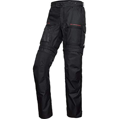 FLM Motorradhose Sommerreise Textilhose modular 2.0 schwarz XL (lang), Herren, Tourer, Ganzjährig, Leder