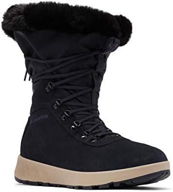 Columbia Women s SLOPESIDE Village Omni Heat HI Snow Boot Extreme Midnight Cyber Purple 11 product image