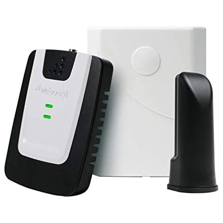 weBoost Basic Home (471101) Cell Phone Signal Booster Kit | Up to 1,500 sq. ft. | Rooms or Apartments | Verizon and AT&T | Amazon Exclusive | FCC Approved