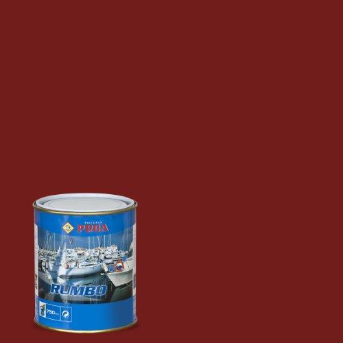 Proa Rumbo Patente convencional Matriz dura., Rojo Óxido. 750 ML