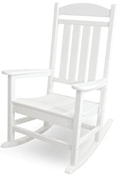 POLYWOOD R100WH Presidential Rocking Chair White