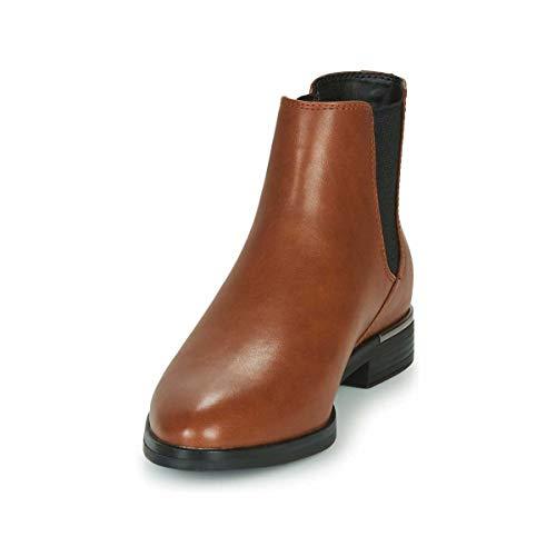 ESPRIT Damen 070EK1W314 Mode-Stiefel, 225/TOFFEE, 39 EU