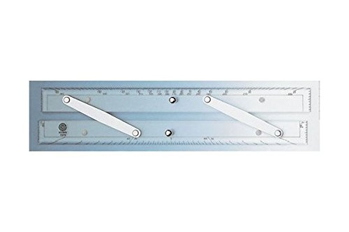 Ecobra Parallel Lineal 12' (30,5cm) mit nautischer Teilung
