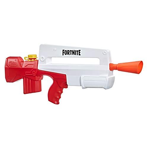 Nerf Super Soaker Fortnite Burst AR Wasserblaster – Pump-Action Wasser-Attacke für Outdoor-Spiele – Für Kinder, Jugendliche, Erwachsene