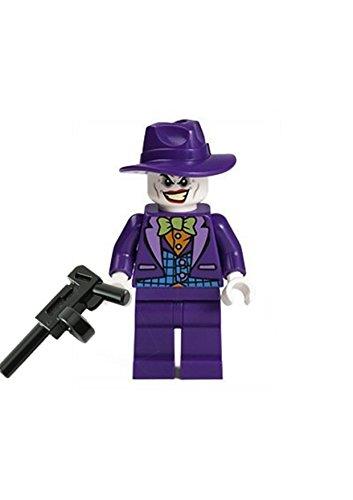 LEGO Super Heroes Batman 2 (ll) Minifigur Joker mit Waffe & Hut aus Set 76013