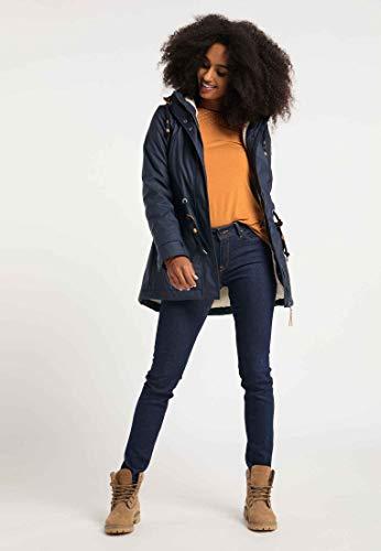 Ragwear Jacke Damen MONADIS Rainy 2021-60042 Dunkelblau Navy 2028, Größe:XS