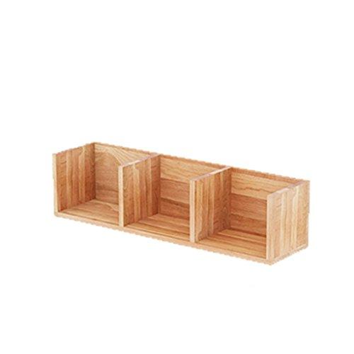 WWWANG Massief houten muur TV wandplank Bedroom opknoping Woonkamer hoekplank Corner eiken partitie Modern en eenvoudig (Size : B)