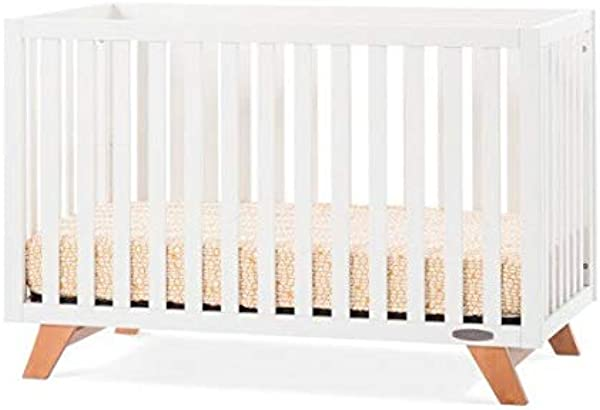Forever Eclectic By Child Craft SOHO 4 In 1 Convertible Crib White Natural White Natural