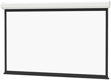 Da-Lite Cosmopolitan Electrol Wide Format W/Low Voltage Control System - Projection Screen (Motorized) - 109 in (277 cm) - 16:10 - Matte White - White Powder Coat