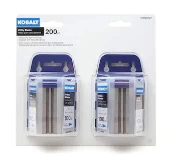 Kobalt Utility Knife Blades (200-Pack)