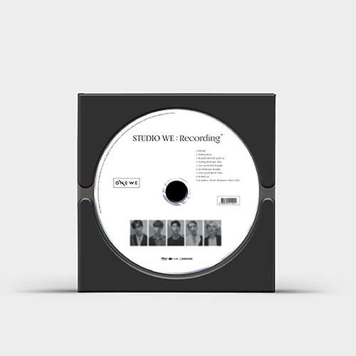 RBW Entertainment ONEWE - Studio WE : Recording (1st Demo Album) Album+Folded Poster+Extra Photocards Set