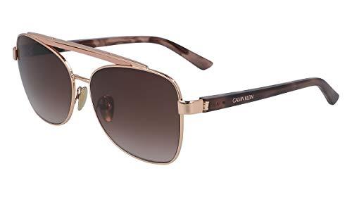 Calvin Klein 680 - Gafas de sol para mujer, diseño de mariposas, 58 mm, 14 mm, 140 mm