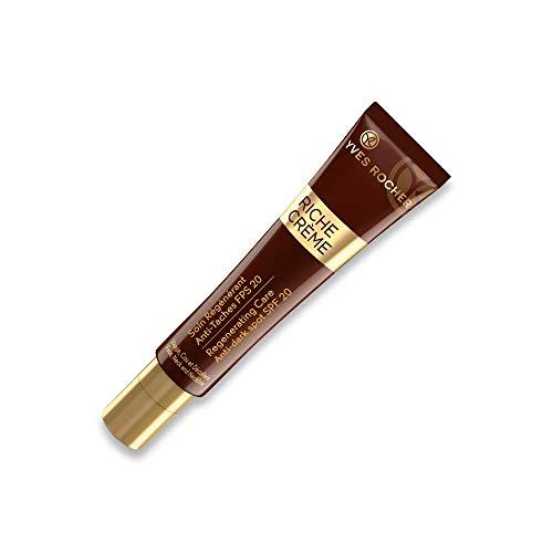 Yves Rocher RICHE CRÈME regenerierende Pflege Anti-Pigmentflecken LSF20, Tagespflege bei Pigmentflecken, 1 x Tube 40 ml