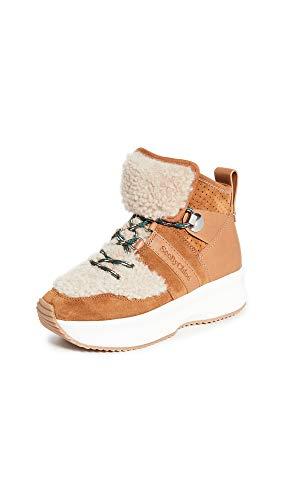SEE BY CHLOÉ CASEY Sneakers dames Cognac Hoge sneakers