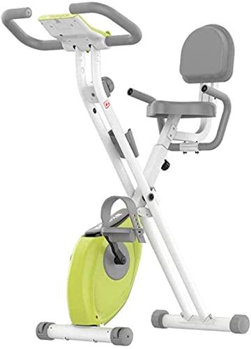 Bicicleta de ejercicio plegable casa spinning bike control magnético ultra-silencioso pedal deportivo interior bicicleta ejercicio pérdida de peso equipo fitness con pantalla LCD