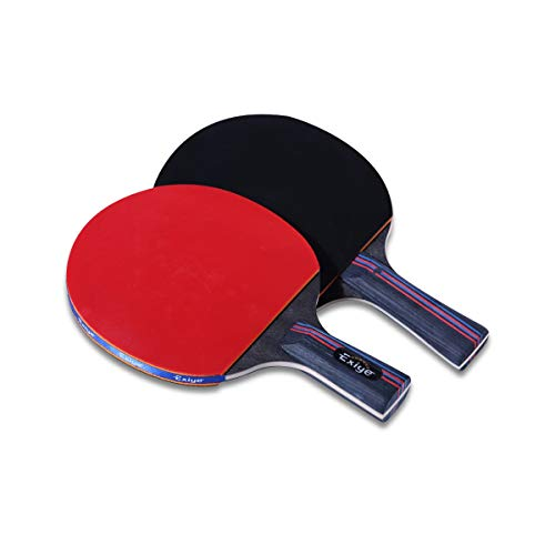 Read About HUIJUNWENTI Table Tennis Racket, Junior Training, Long Handle Short Badminton Table Tenni...