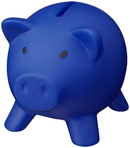 noTrash2003 salvadanaio salvadanaio salvadanaio salvadanaio salvadanaio Decorazione Maialino Piggy Miss Verch. Colori (Blau)