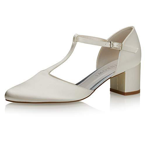Rainbow Club Rosita - Zapatos de novia para mujer, color marfil, color...
