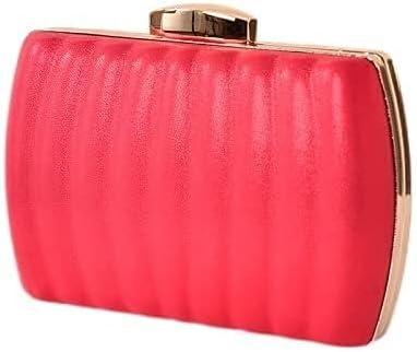 Women's Evening Handbags Women's Evening Dress Bag, Pleated Leather Texture Material