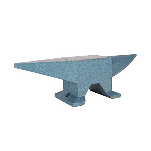 CO-Z 66lbs Single Round Horn Anvil Blacksmith for Sale Forge Tools and Equipment Anvil Rugged Round Horn Anvil Blacksmith Jewelers Metalsmith Blacksmith Tool with Polished Surface