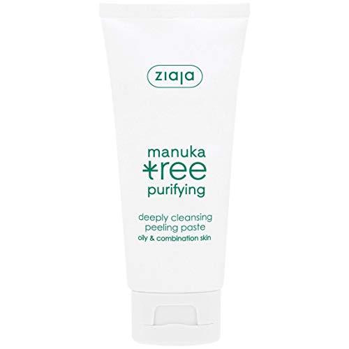 Ziaja Manuka Tree Facial Peeling Paste - Unclogs Pores Reduces Imperfections