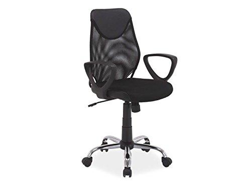 Jadella bureaustoel 'Lohne' managersstoel draaistoel kleurkeuze modern kantoor zwart