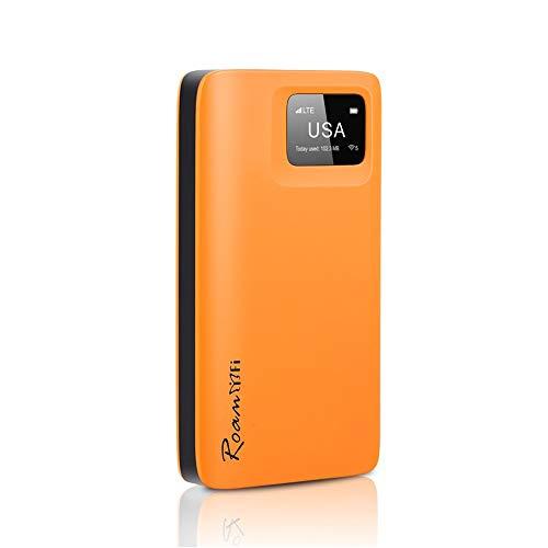 RoamWiFi R10 4G LTE High Speed Network Mobile Hotspot, Worldwide WiFi...