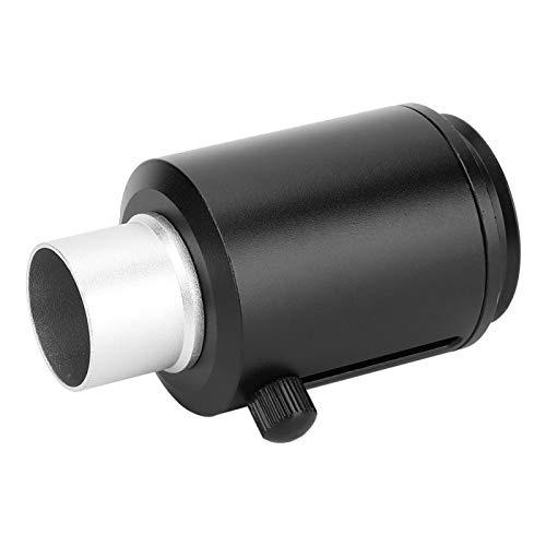 Interfaz CTV Adaptador de lente de microscopio estéreo Adaptador de lente de microscopio Adaptador de cámara Lente de montaje de tamaño compacto para microscopio estereoscópico (#2)