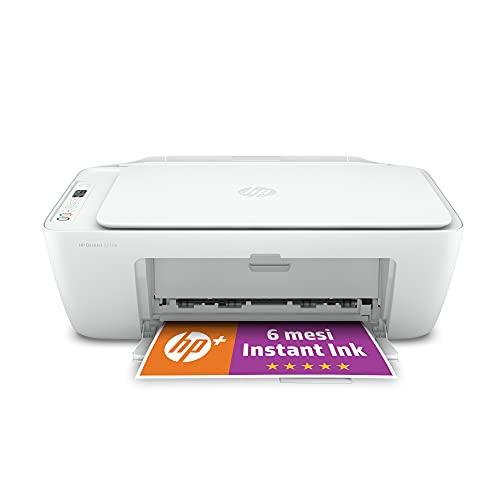 HP DeskJet 2710e Stampante Multifunzione, 6 Mesi di Inchiostro Inclusi con HP+