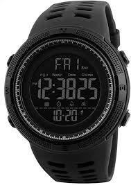Relógio Skmei 1251 Digital Masculino Esportivo Prova D'água cor: Preto