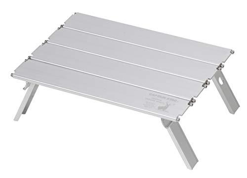 キャプテンスタッグ(CAPTAIN STAG) アウトドアテーブル アルミロールテーブル コンパクト ナノ 幅330×奥行2...
