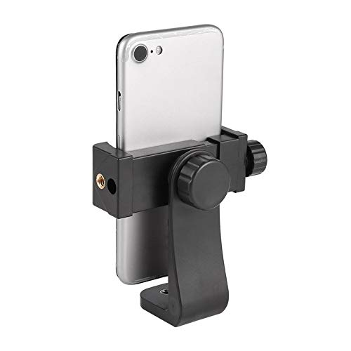 Universal Adjustable Tripod Mount Cell Phone Clip Vertical Bracket ...