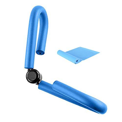 YNXing Multifunktionale Oberschenkel Master Muskel Fitnessgeräte Oberschenkel Trimmer Bein Übung Gymnastik Yoga Sport Abnehmen Training (Blau)