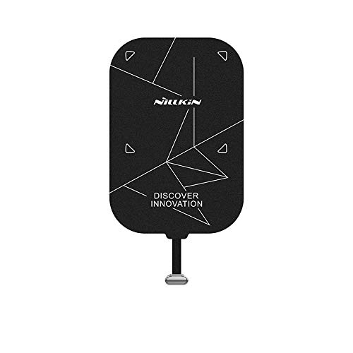 Nillkin Lightning Wireless Charger Receiver - Qi Ultra Thin Magic Tag Wireless Charging Receiver Patch Module Chip for ipad Mini 1/2/3/4/5th 7.9 inch,Lightning Short