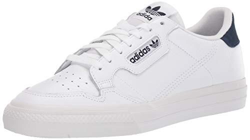 Zapatillas Adidas Originals Continental Vulc para hombre, Blanco (Blanco/Blanco/Azul Marino), 37 EU