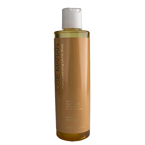 Josie Maran Argan Cleansing Oil for Body in Toasted Brown Sugar by Josie Maran