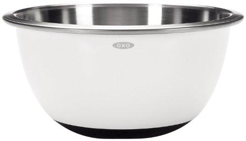 Oxo 1071823, Ciotola per mixer, 4,7 L, colore: Bianco