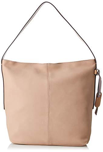 Esprit Accessoires Damen 039ea1o021 Schultertasche, Pink (Nude), 12x30x27,5 cm