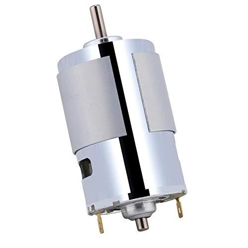 WNJ-TOOL, 1 PC 12V Micro Electric Motor 100W Elektromotor Rundwellenelektro Micro DC Motor 12000r / min High Speed hohe Drehmoment