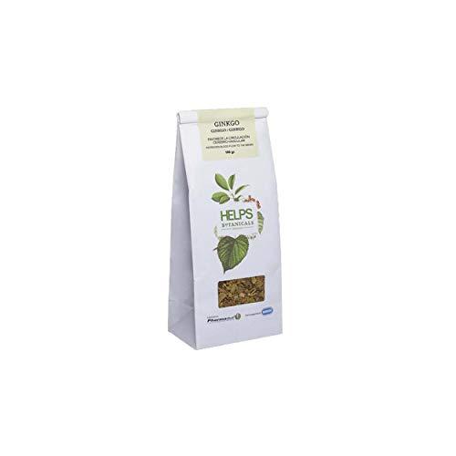 HELPS INFUSIES - Ginkgo Biloba-infusie. Ginkgo Biloba thee in bulk. Het bevordert de bloedsomloop en het geheugen. 100 gram bulkzak.