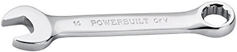 Powerbuilt 641788 Metric Mirror Polish 10 mm Stubby Combination Wrench by Alltrade Tools B0186IY28I | Neues Design