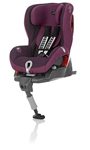 Britax Römer Autositz SafeFix plus, Gruppe 1 (9-18kg), Kollektion 2015, Dark Grape
