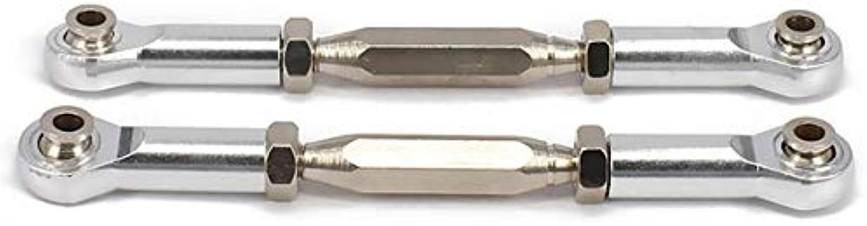 2pcs Alloy Aluminum Front Front Front Rear Servo Link