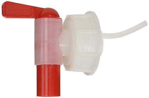 Kautex 2000090386 Schraubverschl mit Auslaufhahn, HDPE für 5 L/10 L Kanister