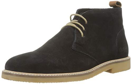 Kickers Tyl, Zapatos de Cordones Derby para Hombre, Negro (Noir Perm 8), 43 EU