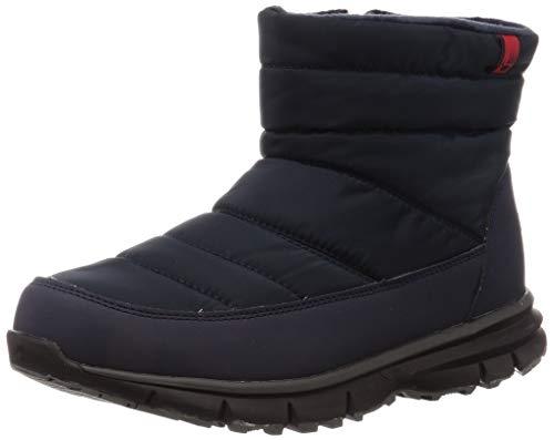[ベアパウ] LIGHT BEAR スノートレーニングシューズ メンズ 防水 軽量 スノー ウインター ブーツ レインブーツ ネイビー 26 cm
