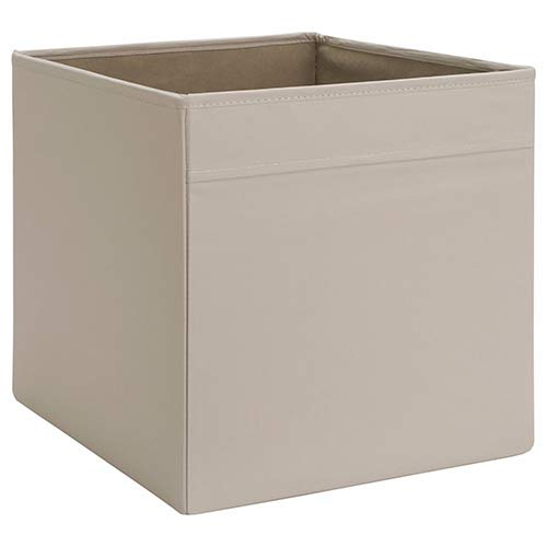 IKEA Dröna Aufbewahrungsbox für Kallax Regale Box Fach Kiste 33x38x33 cm (Beige)