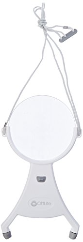 OttLite 4-Inch Hands-Free LED Magnifier - Adjustable Neck Cord, Acrylic Magnifier, Needlepoint, Sewing, Jewelry Making